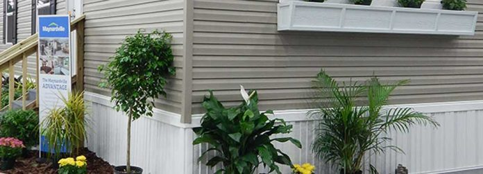 mobile home skirting mobile home curb appeal