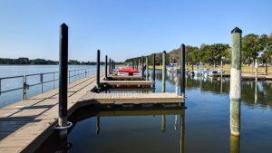 48 slip marina at Sun Lake Estates