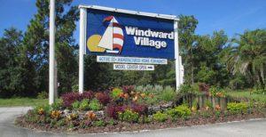 Sign for Windward Village MHC