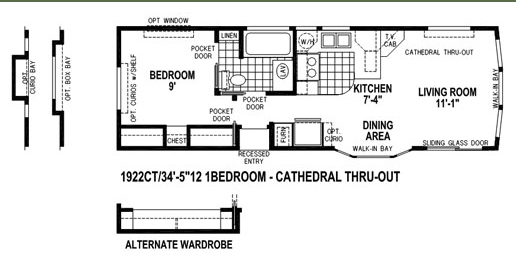 Skyline floor plan