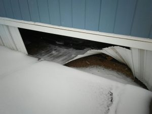 Causes of Frozen Pipes in a Mobile Home