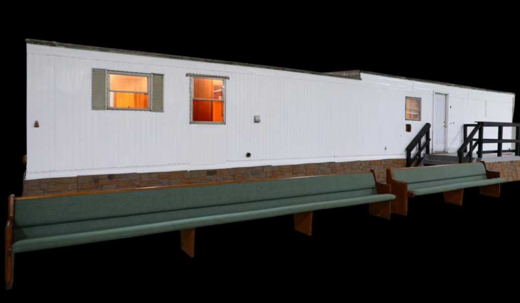 Elvis' mobile home on the auction block