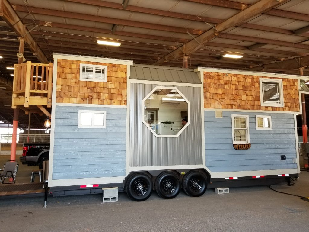 Buy used tiny homes from builders who tow and show their work.