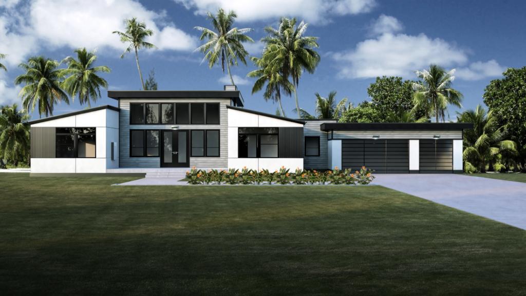 Modern Design New Modular Home