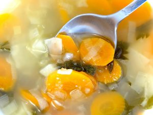 Steps to Keep Warm in a Mobile Home Eat Hot Soup