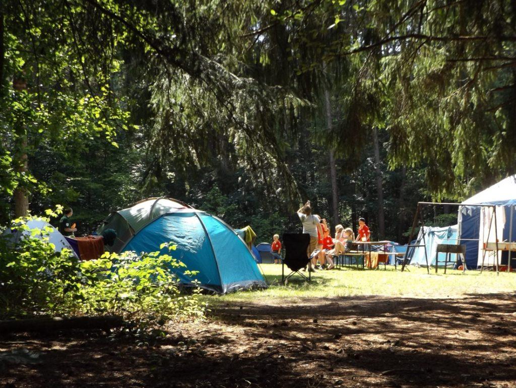 DeWitt Scholarship camping