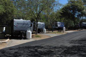 mobile home RV temporary housing California