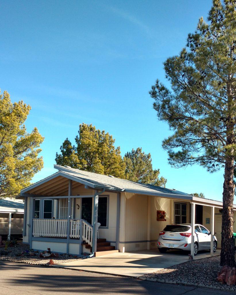 buy a mobile home desert sky