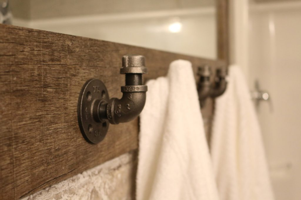 Industrial Home Trends Pipe Hooks