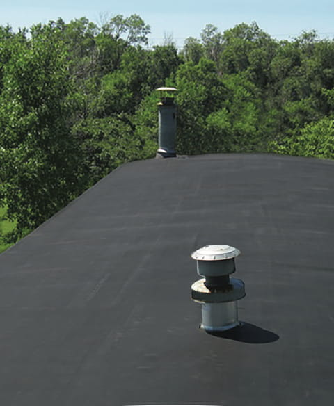 Material for mobile home roof repair