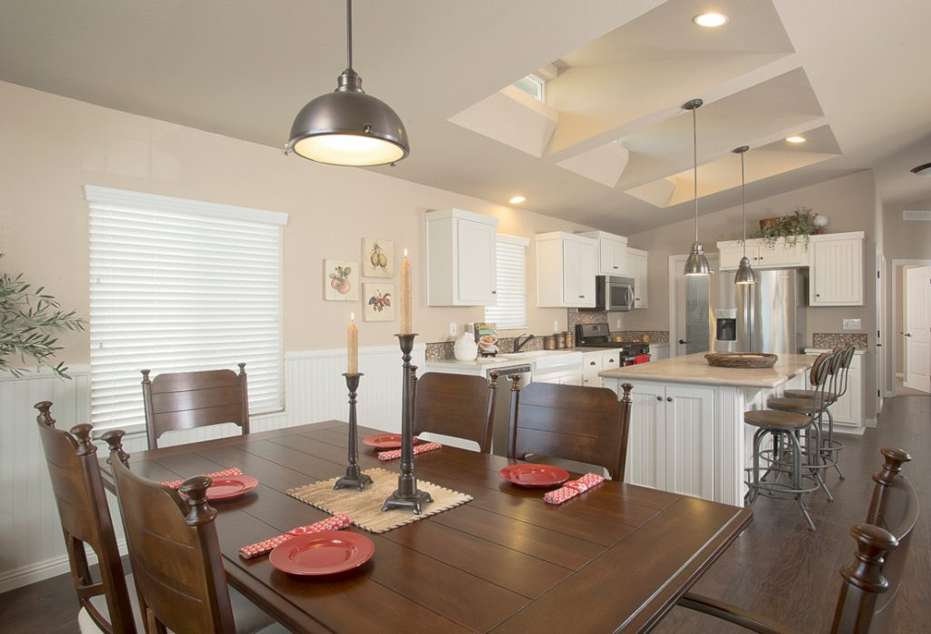 selling a manufactured home kitchen and dining