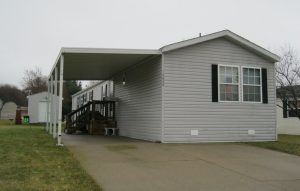 mobile home value single section
