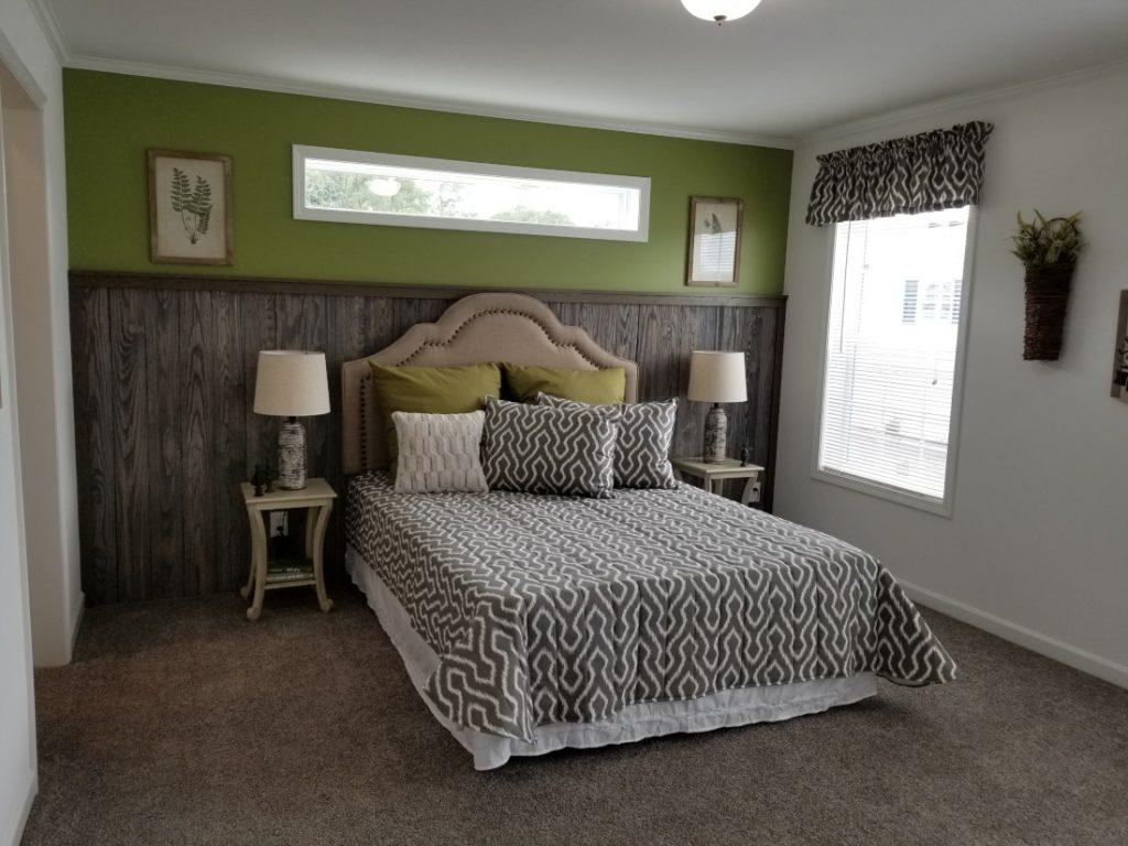 Redman home bedroom mobile home refinance