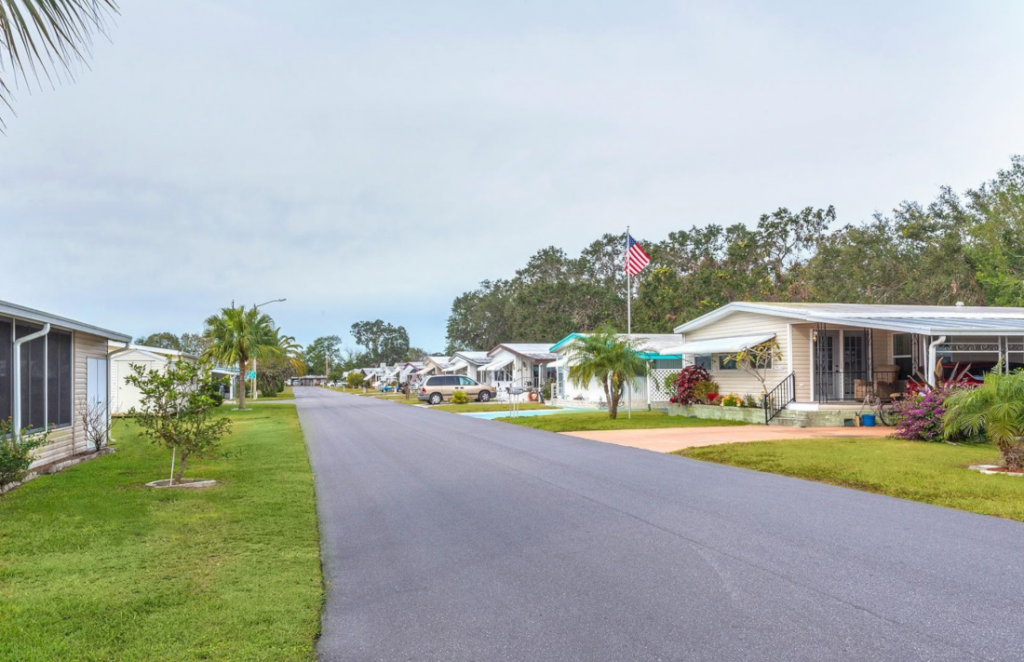 Improve mobile home value - invest into the community