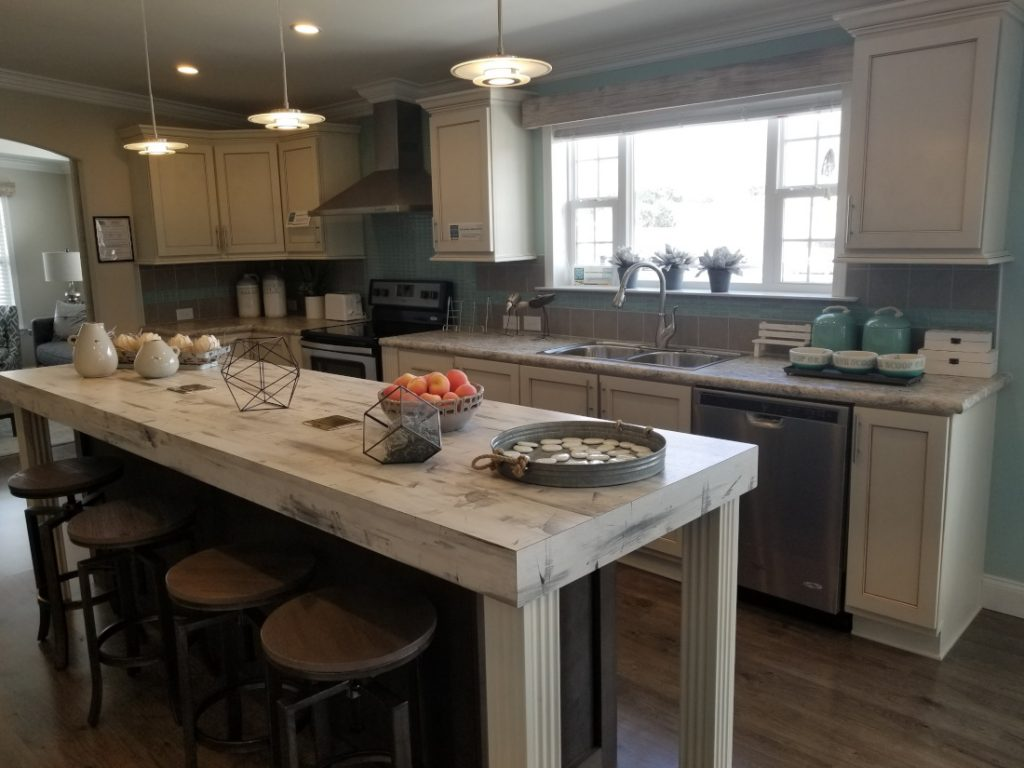 Kitchen island open house tips food