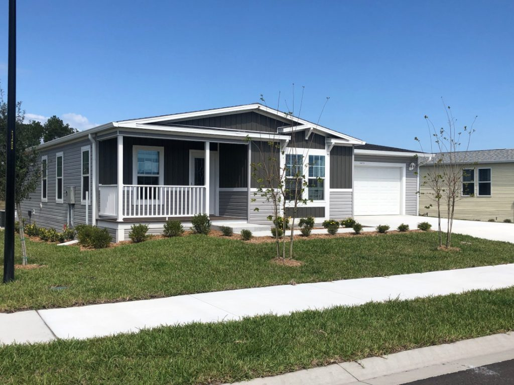 open house tips exterior mobile home curb appeal