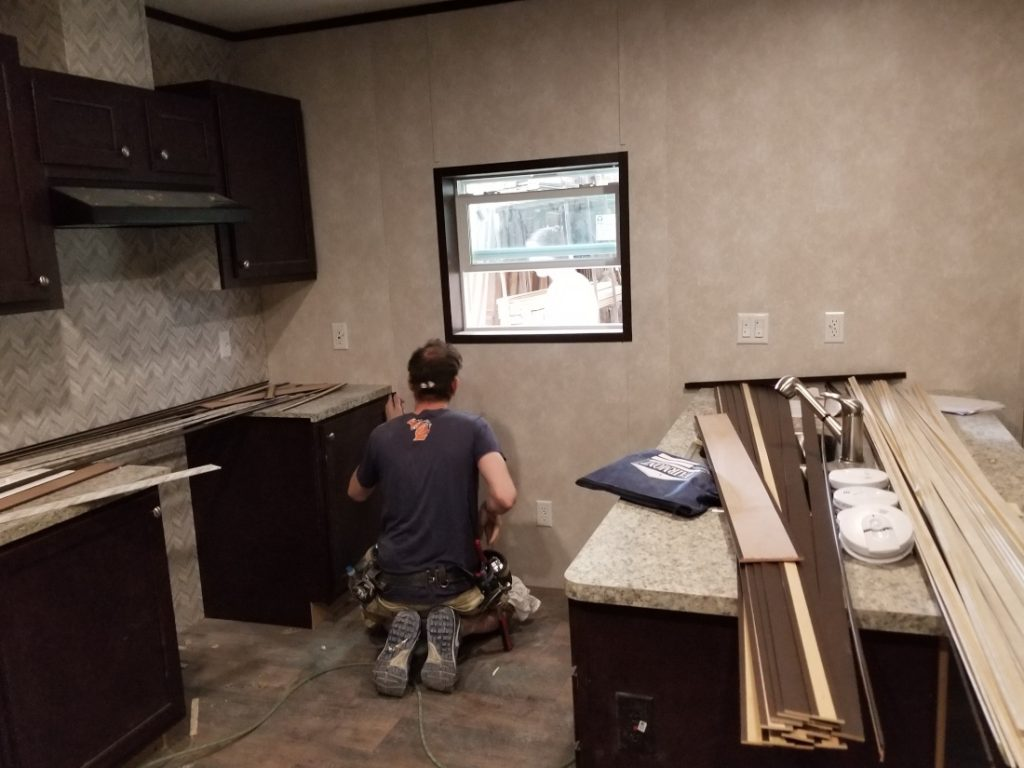 Fairmont Homes interior finishes Mobile Home Construction