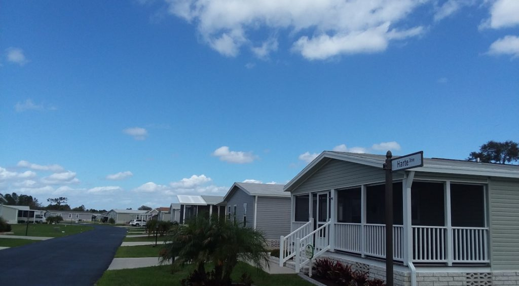 mobile home park rent vs. buy