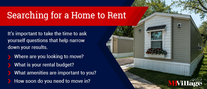 search to rent a mobile home