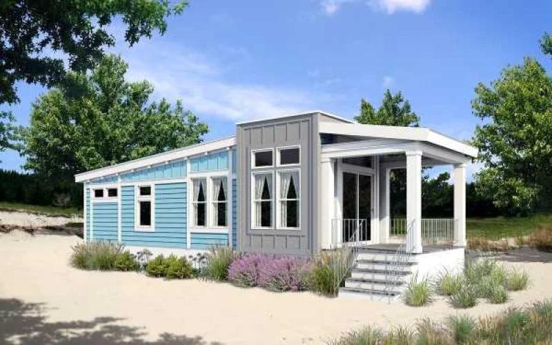park model home exterior
