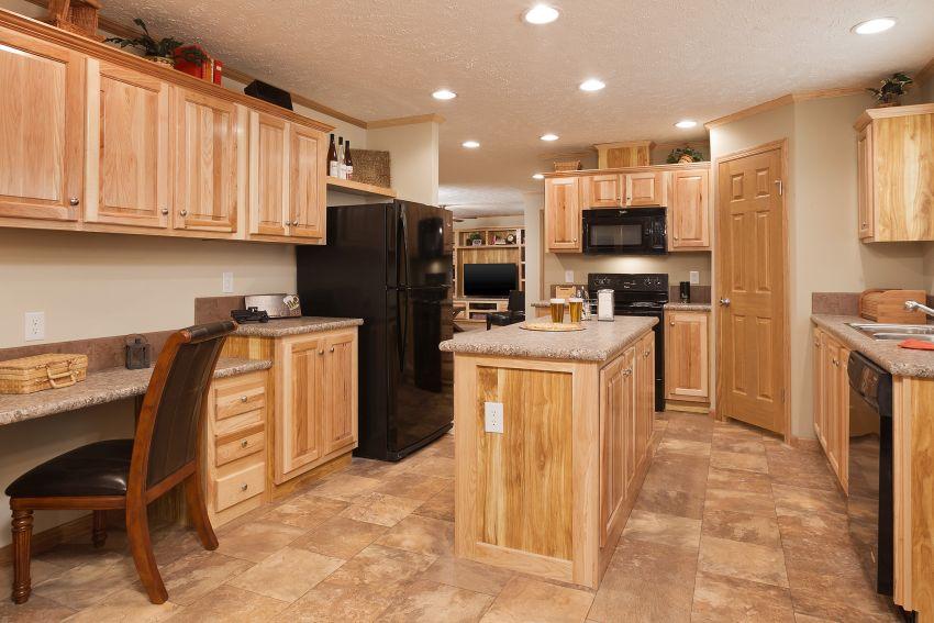 4 bedroom mobile home kitchen