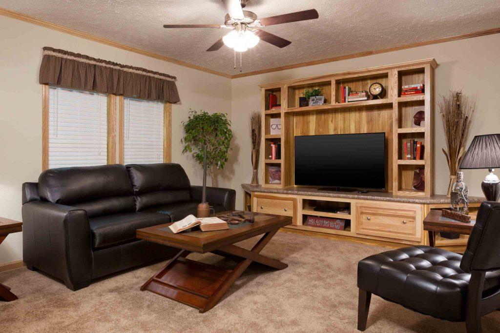 4 bedroom mobile home living room