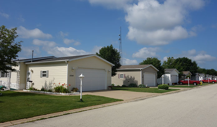 manufactured home garage cost