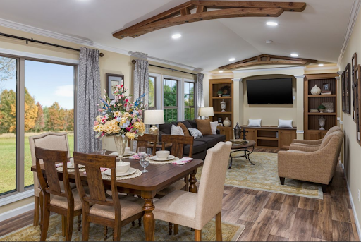 Ranch style modular home interior - Bordeaux by Clayton Homes