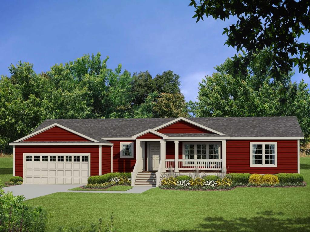 Ranch style modular home - Prescott by Genesis