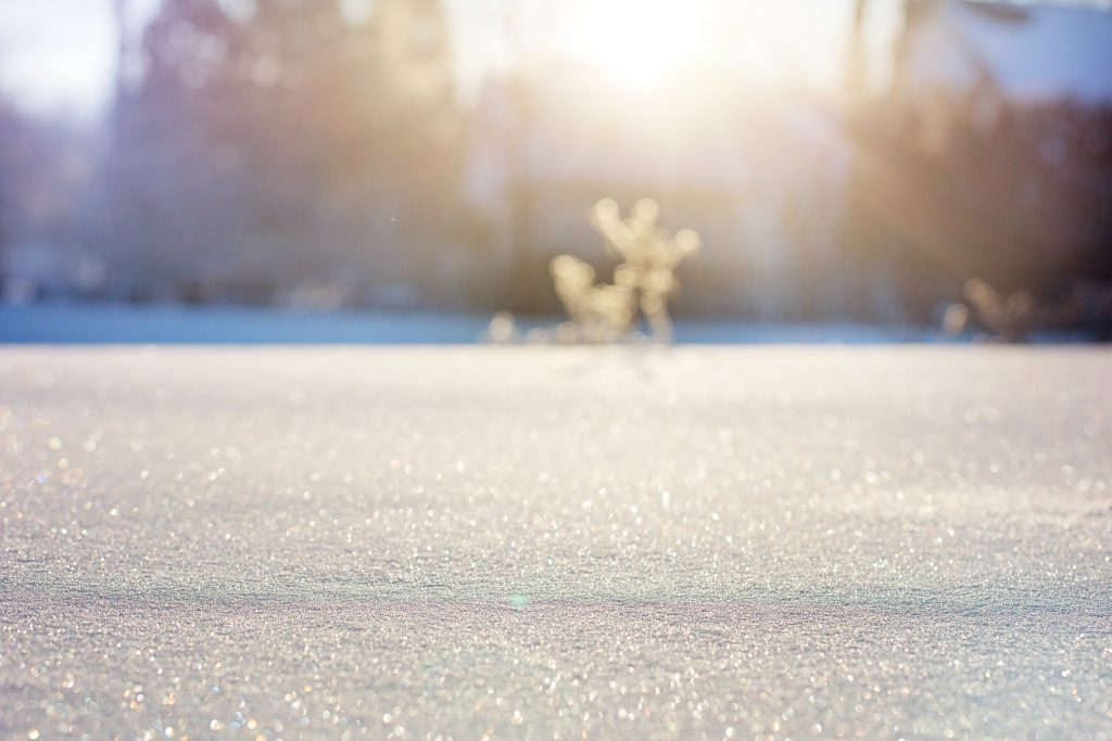 manufactured homes in winter